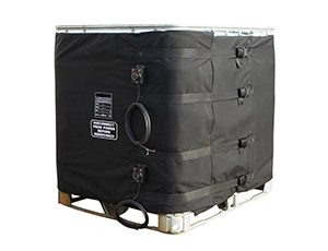 Heating jacket for 1000 L IBC