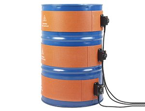 Side heater for 200 L drums