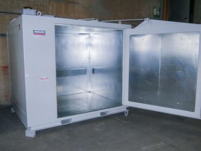 4 DRUMS HEATING CABINET S WITH AUTOMATIC WING DOORS