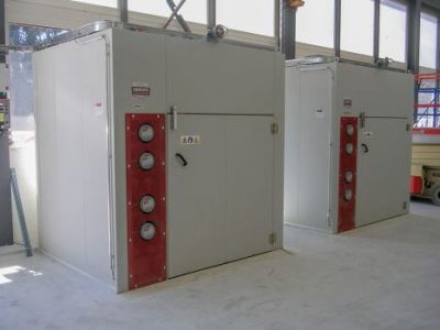 4 DRUMS HEATING CABINETS, ATEX RATED, HIGH TEMPERATURE  OPERATION (UP TO+200°C)