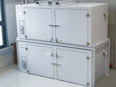 16 DRUM  HEATING CABINET, ATEX RATED,  TWO INDEPENDENT  ZONES, CUSTOM DESIGN