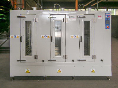 INDUSTRIAL OVEN  FOR THE FIRING OF BIOMEDICAL COMPONENTS (3 INDEPENDENT ZONES)