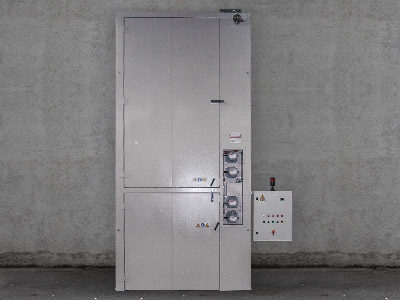 12 DRUMS HEATING CABINET, VERTICAL TYPE, ELECTRIC, ATEX RATED