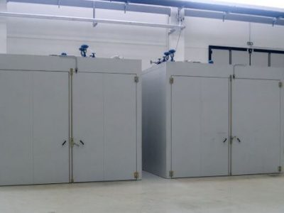 INDUSTRIAL OVENS FOR DRYING RESINS