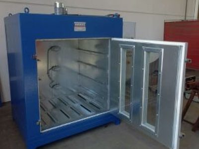 OVEN WITH FORCED VENTILATION FOR THE POLYMERISATION OF MATERIALS