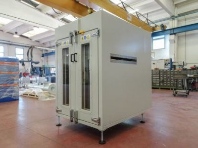 INDUSTRIAL OVEN WITH FORCED FOR THERMOFORMING PROCESS