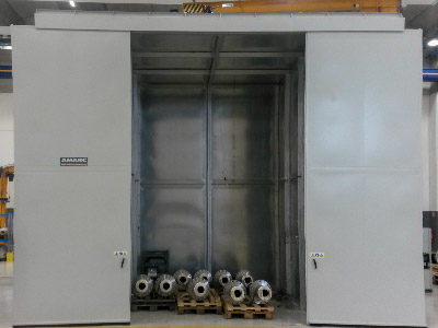 INDUSTRIAL OVEN WITH FORCED FOR THE DRYING PROCESS